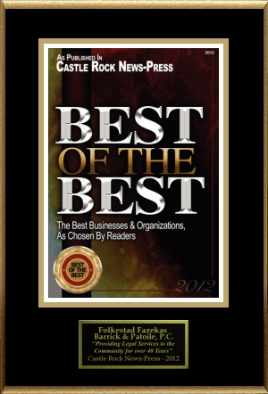 Best of the Best plaque 3